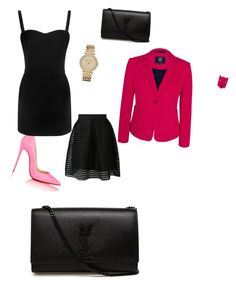 """""""Untitled #19"""" by nonostyle123 ❤ liked on Polyvore featuring beauty, Christian Louboutin, Viyella, Alexander McQueen, Yves Saint Laurent and MICHAEL Michael Kors"""