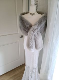 Vintage Fur, Vintage Bridal, Winter Wedding Fur, Faux Fur Shrug, Mink Stole, Bridal Shawl, African Traditional Dresses, Old Hollywood Glamour, Whistles