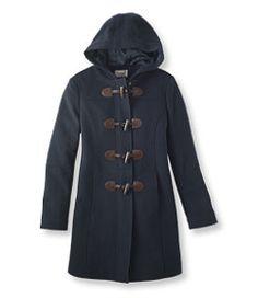 #LLBean: Classic Lambswool Duffel Coat (THINSULATE!)