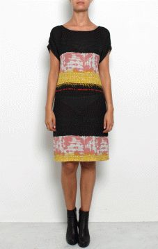 Filippa K Woman - PRINT WOOL CREPE DRESS