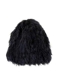 Reversible fur hat