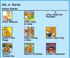 Free Online Storybooks on KOL Jr.