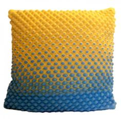 Sunset Knitted Cushion