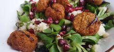 Couscous met falafel