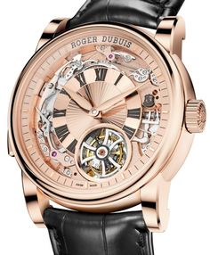 Roger Dubuis Hommage Minute Repeater Tourbillon Automatic $400,000