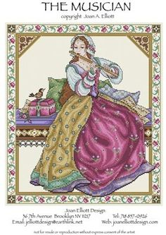 Joan Elliott - Cross Stitch Patterns