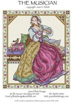 Joan Elliott - Cross Stitch Patterns
