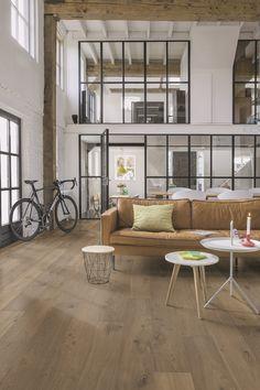 "Quick-Step Palazzo ""Cinnamon oak extra matt"" (PAL3096) Harwood Flooring - www.quick-step.com"