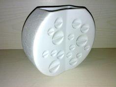 Vase OP ART Thomas Porzellan Design: Hans Theo Baumann Höhe: 15 cm Wheel Vase **