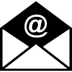 Geopende e-mail envelop Gratis Icoon