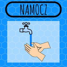 WRZEŚNIOWY NIEZBĘDNIK NAUCZYCIELA PRZEDSZKOLA Hand Washing, Symbols, Letters, How To Plan, Diy, Therapy, Bricolage, Icons, Fonts