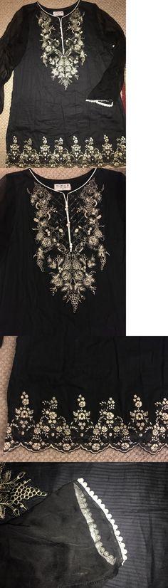 Salwar Kameez 155249: Maria B Shalwar Kameez Kurta Kurti Pants Embroidered M Fits L -> BUY IT NOW ONLY: $89.99 on eBay!