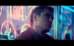 "Rick Deckard (Harrison Ford) in ""Blade Runner"" Blade Runner Actors, Film Blade Runner, Deckard Blade Runner, Ridley Scott Blade Runner, Cyberpunk Movies, Science Fiction, Rick Deckard, Sean Young, Neon Noir"