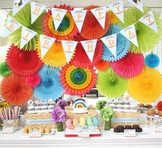 Fiestas Infantiles: Arcoíris |