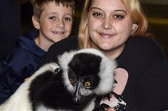 Little brother and I got to hold a lemur :) he's so soft ! http://ift.tt/2pYseQb