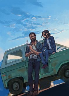 Wolverine and Laura Marvel Wolverine, Logan Wolverine, Marvel Dc Comics, Marvel Vs, Marvel Girls, Marvel Heroes, Marvel Characters, Wolverine Poster, X23 Logan