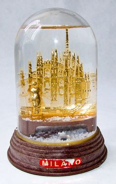Milan, Italy [snow globe] by Vaguely Artistic, via Flickr