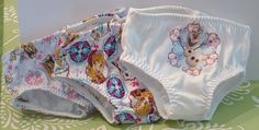 3 Pairs Frozen Panties for American Girl by MyGirlClothingCo