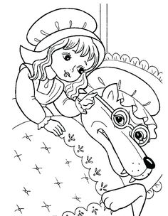 Colouring Pages, Coloring Sheets, Free Coloring, Literacy Bags, Fairy Tale Activities, Wolf, Craft Free, Activity Sheets, Red Riding Hood