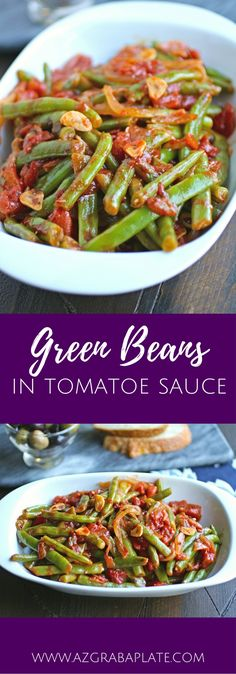 Green Beans in Tomato Sauce is a straightforward side dish that is rich and colorful. The best part about this recipe was using fresh green beans from my mom's garden. If you still have green beans or can find them at the market, give this dish a try. I mentioned recently that I was headed …