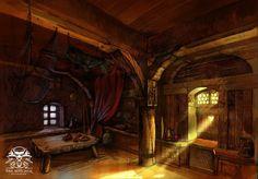 medieval tavern perspective - Google-haku