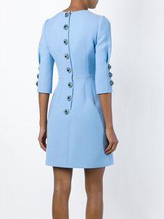 Dolce & Gabbana Платье С Вышитой Пайетками Розой - Tootsies - Farfetch.com