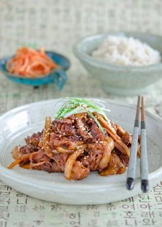 How to make spicy Korean pork, Jeyukbokkeum (제육볶음)
