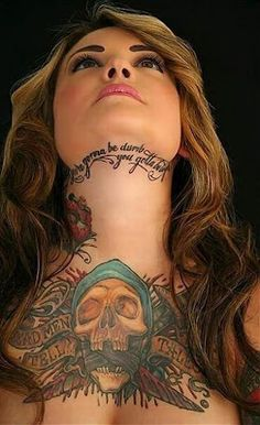 Here view cute collection of neck tattoo designs for girls.Flower tattoo designs for neck.How to get perfect neck tattoo Tattoo Girls, Tattoo Designs For Girls, Girl Tattoos, Hot Tattoos, Great Tattoos, Beautiful Tattoos, Body Art Tattoos, Latest Tattoos, Female Tattoos