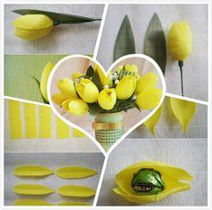 DIY Sweet Chocolate Tulip Flower F 1 Wonderful DIY  Chocolate Tulip Flower  Bouquet