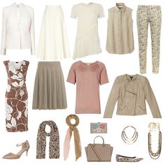 capsule wardrobe neutrals, spring capsule wardrobe