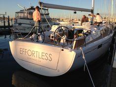 Perfect Name. Perfect Boat  A Hanse 385 from JK3 Nautical Enterprises www.jk3yachts.com San Diego, CA