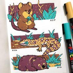 Pen Art, Marker Art, Sketchbook Inspiration, Art Sketchbook, Animal Drawings, Art Drawings, Posca Art, Guache, You Draw