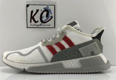 "dc26806a372dd5 Adidas EQT Cushion ADV ""White Red"" CP9460"