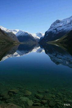 Lovanet Lake. Loen. Norway.