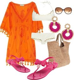 """Beach Girl..."" by mitika1980 on Polyvore"