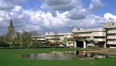 Ede, panorama. Gemeentehuis