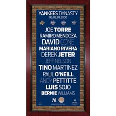 96 98 99 00 New York Yankees Champions Player Names Subway Sign Wall Art 16 Inch X 32 Inch Photo With Authentic Dirt From Yankee Stadium >>> Be sure to check out this awesome product.
