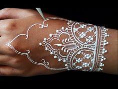 ᴴᴰ DIY Best Beautiful Henna Art Designs Henna Paint, Henna Diy, Henna Ideas, Henna Tattoo Designs, Mehndi Designs, Henna Tattoos, Henna Kunst, Masquerade Makeup, Wedding Henna