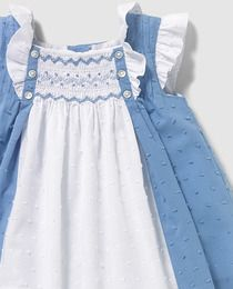 You can't go wrong with Swiss dot. Baby Girl Fashion, Kids Fashion, Little Girl Dresses, Girls Dresses, Smocking Baby, Smocks, Smock Dress, Baby Dress, Doll Clothes