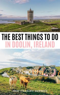 Discover the best things to do in Doolin Ireland with this post! Learn where to practice your photography skills, the best pubs in Doolin, and of course how to visit the Cliffs of Moher.  #ireland #irelandtravel #cliffsofmoher #coastal #traveltips #travelguide #irish
