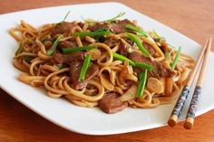 Shanghai Noodles Recipe - The Daring Gourmet ~ these look so good!
