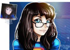 Super girl by tiigroid.deviantart.com on @DeviantArt