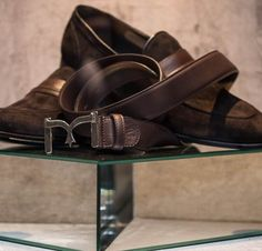 Handcrafted leather for Larusmiani FW15/16 Men's Accessories Collection