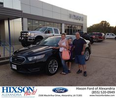 https://flic.kr/p/z1VjAL | Happy Anniversary to Danielle  on your #Ford #Taurus from Andrew Montreuil at Hixson Ford of Alexandria! | deliverymaxx.com/DealerReviews.aspx?DealerCode=UDRJ