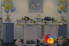 Arranjos de balões duplos para a mesa principal do chá de bebê do Lucas.  Crédito: Balão e fotos: Balão Cultura Créditos: Balões e filme: Balão Cultura  Gostou? Contate-nos: www.balaocultura.com.br Telefones: 11 50816916 ou 11 39049892  #chadebebe #babyshower #decoraçãodeovelhinha #decoraçãodeovelha #decoraçãodeovelhanobalao #balaodecoracao #qualatex #decoraçãodiferente #decoraçãocriativa #encontraideias #mamaefesteira #balaocultura