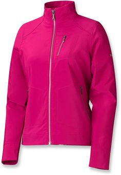 Marmot Levity Soft-Shell Jacket - Women's - Add some color to drab fall days.