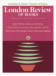 London Review of Books 15 December 2016. Cover: Anne Rothenstein