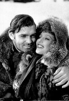 "jessicasuniquegiftshop:  ""Clark Gable and Loretta Young  """