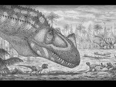 Famille de dinosaures Ceratosaurus