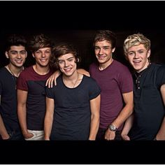 One Direction. To be honest. i didn't really like them at first cause i've heard a song of them with one of them singing out of tune and i think the rhythm of their songs came from some famous songs but hey, its catchy so whatever and Zayn and Liam are cute.